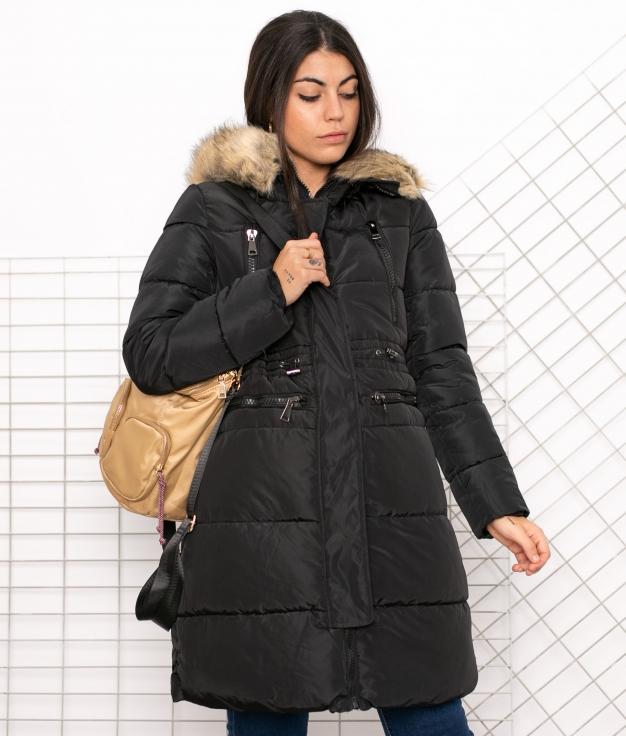Manteau Ygrite - Noir