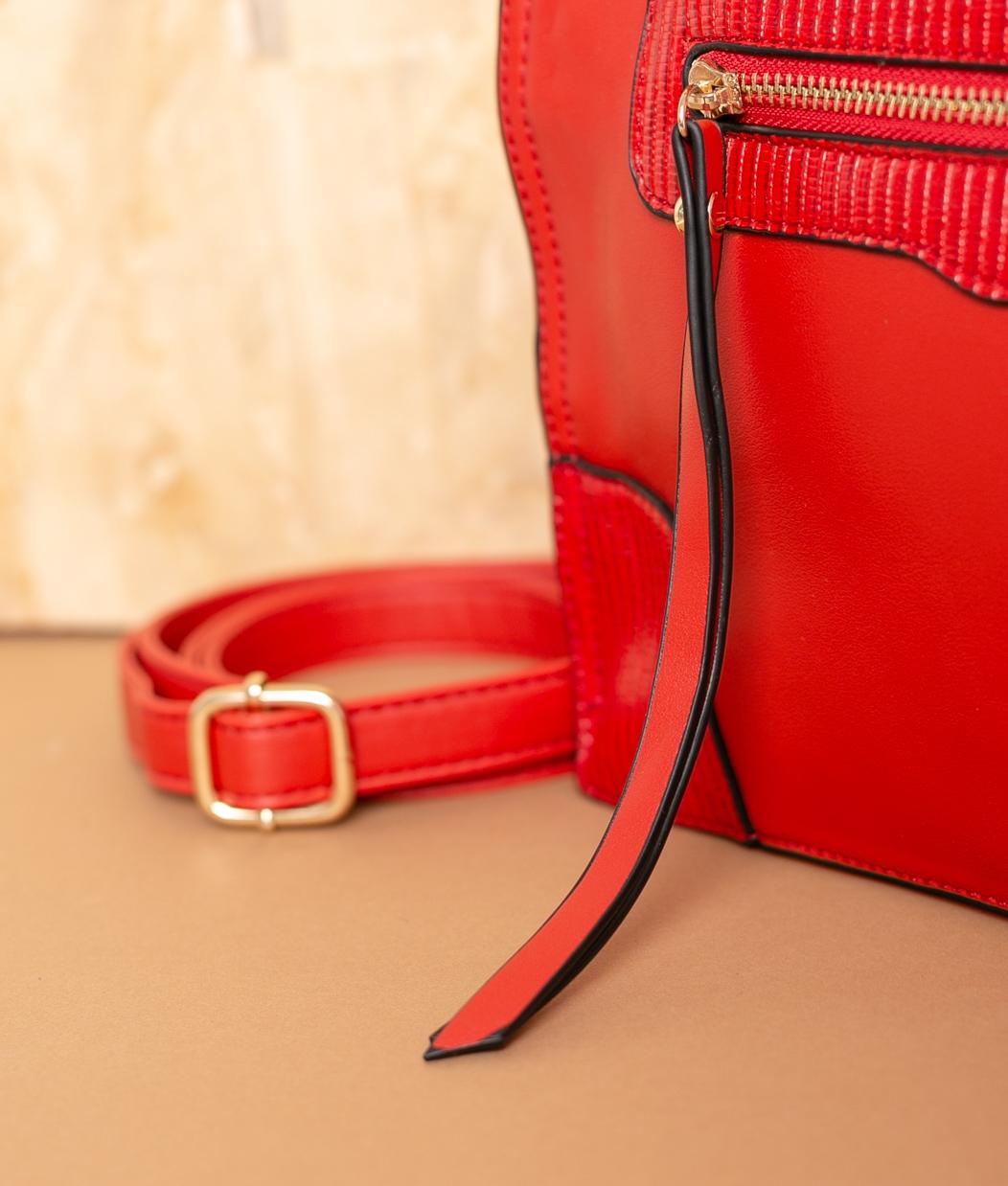 Bolso Vensui - Rosso