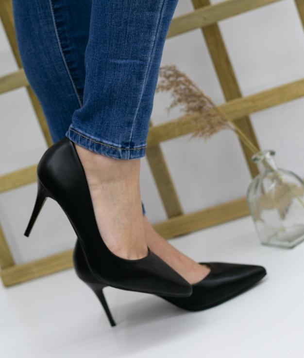 Zapato De Tacón Tilda - Negro