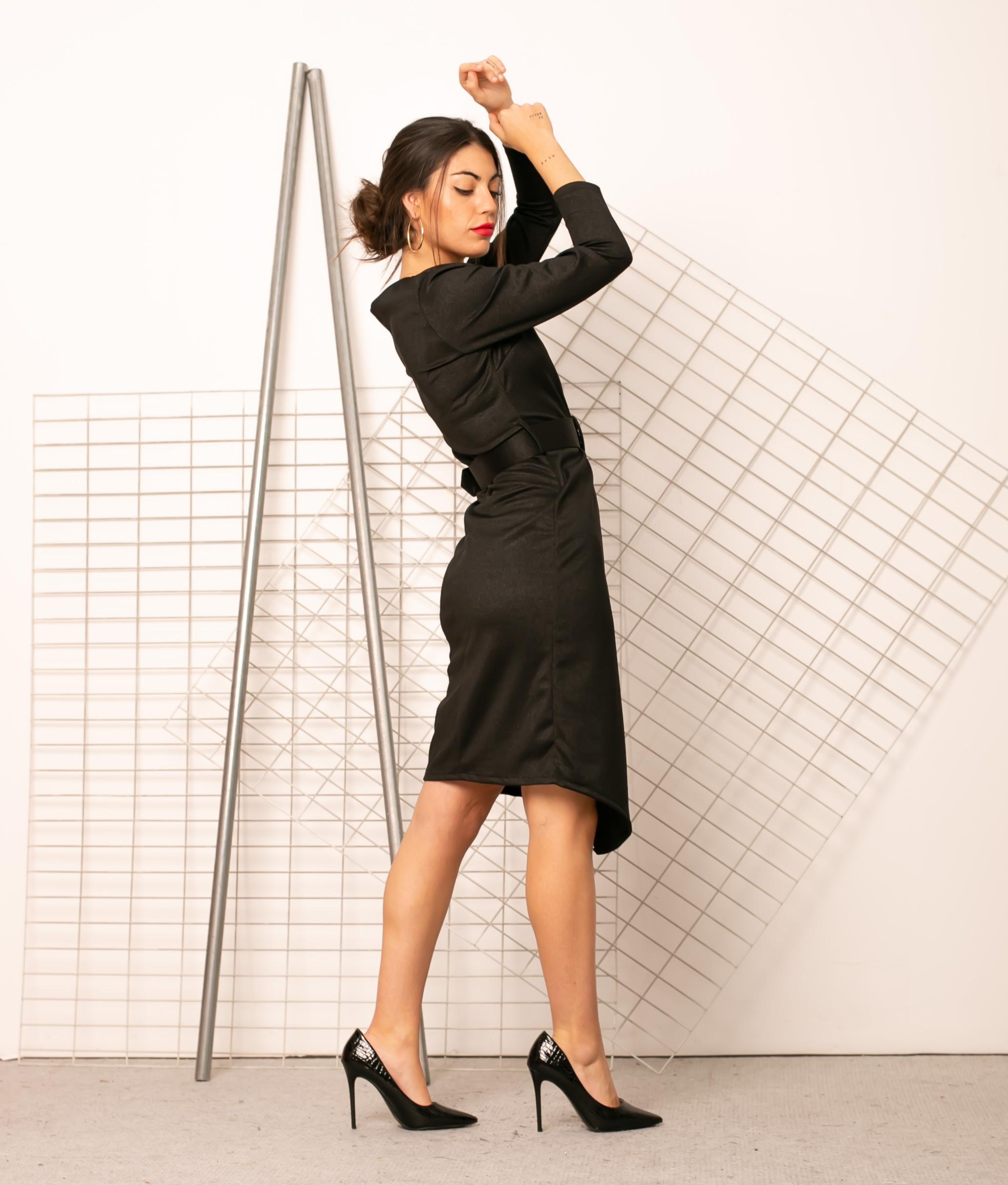 Vestido Ayr - Noir