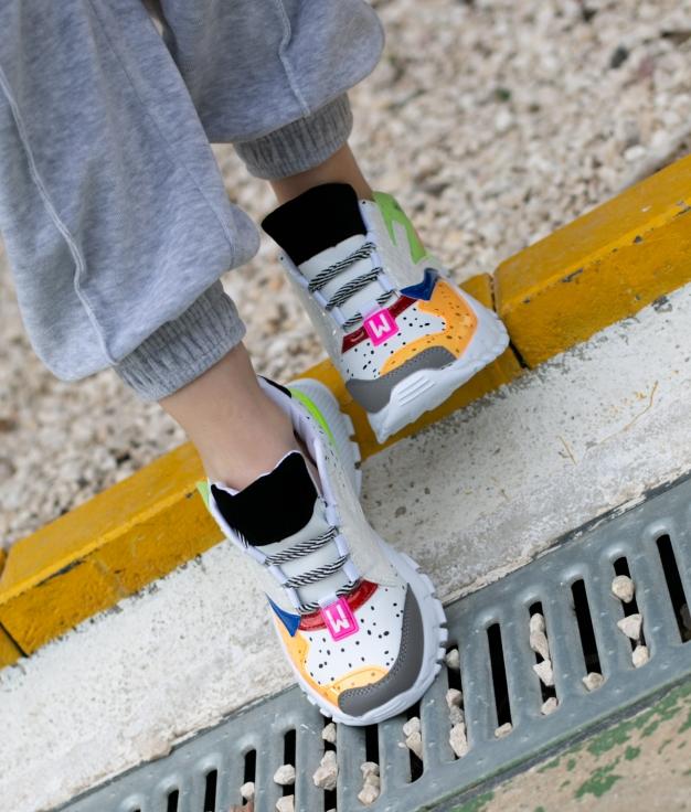 Sneakers Gagu - Bianco