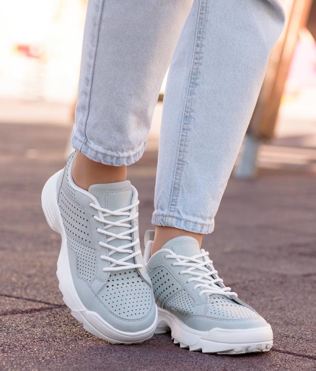 Sneakers Lopen - Bleu