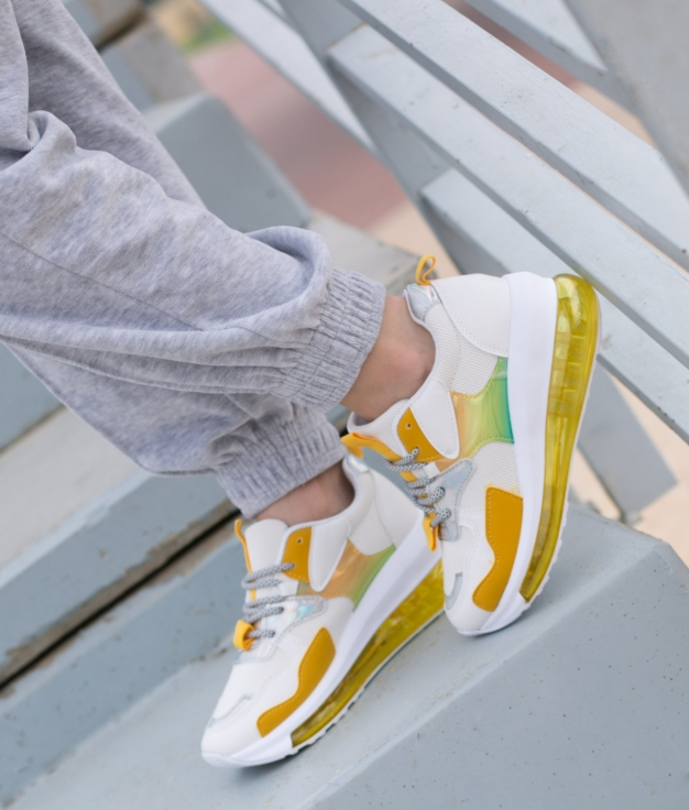 Sneakers Anakin - Amarillo