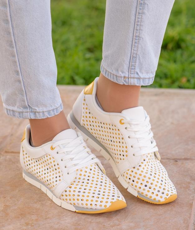 Sneakers Esparu - Amarillo