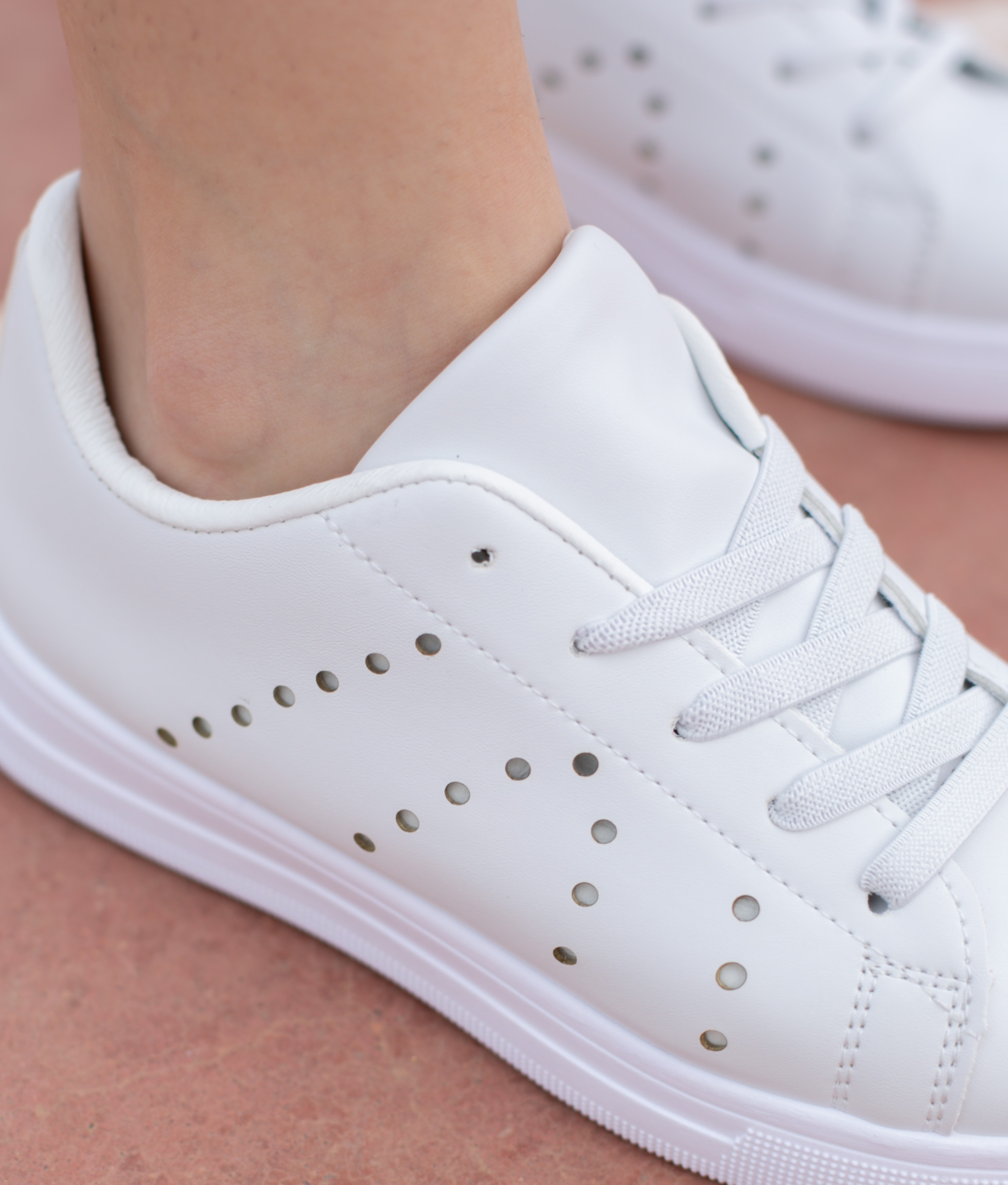 Sneakers Vader - White