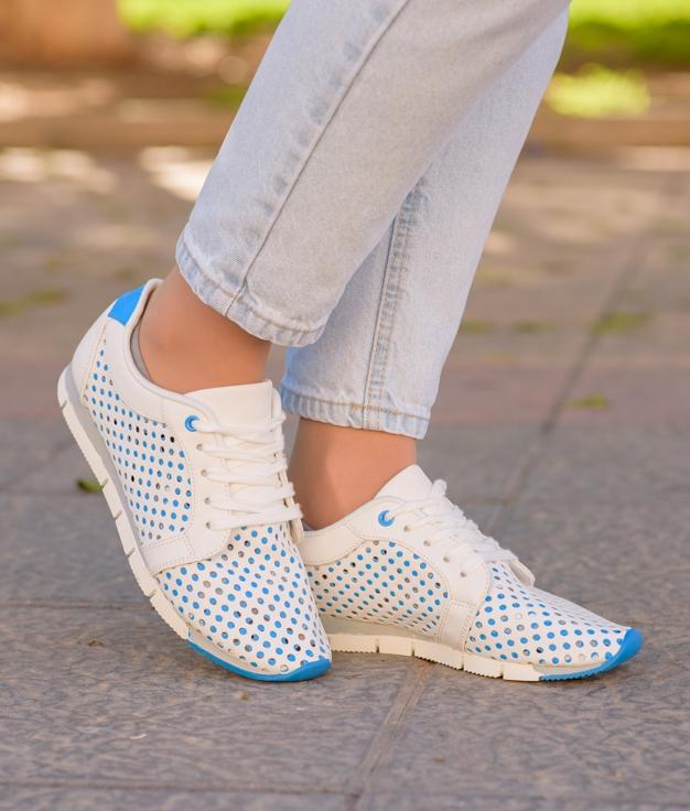 Sneakers Esparu - Bleu