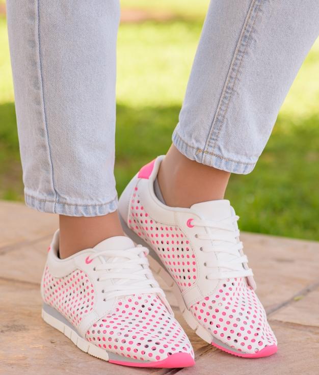Sneakers Esparu - Fucsia