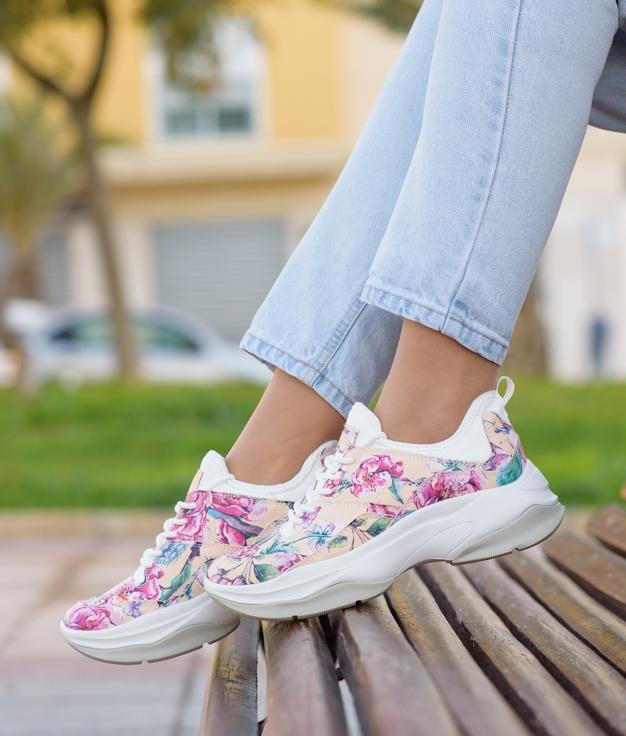 Sneakers Lasla - Bege