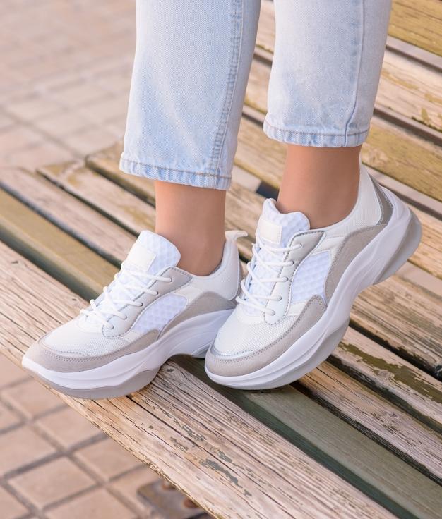 Sneakers Jalen - Bianco