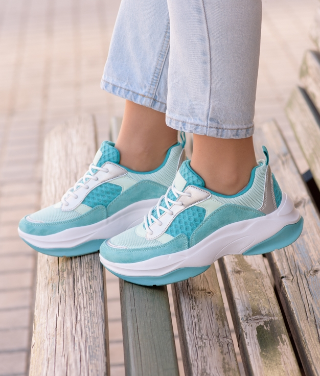Sneakers Jalen - Turquesa