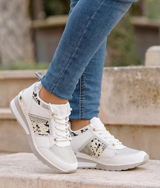 Sneakers Vinis - Blanco