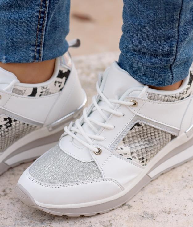 Sneakers Vinis - Blanc