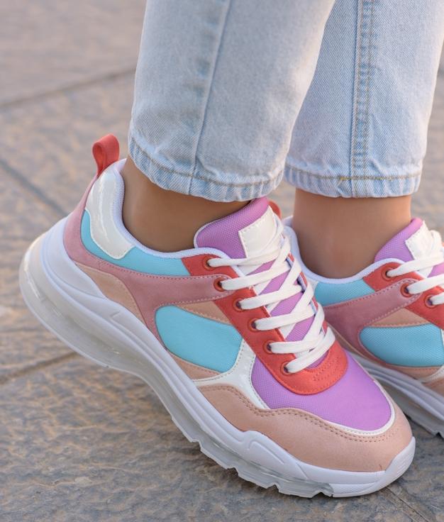 Sneakers Waza - Nude