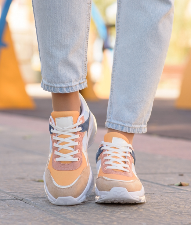 Sneakers Waza - Moutarde