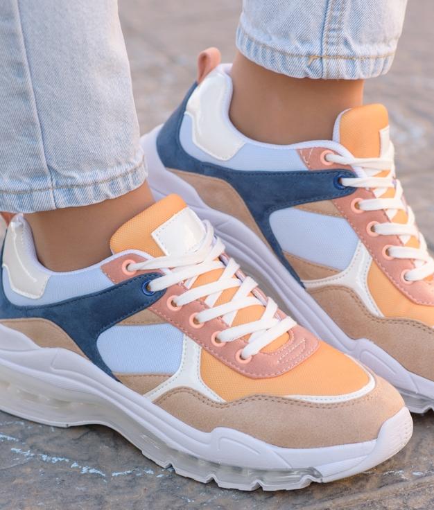 Sneakers Waza - Mostarda