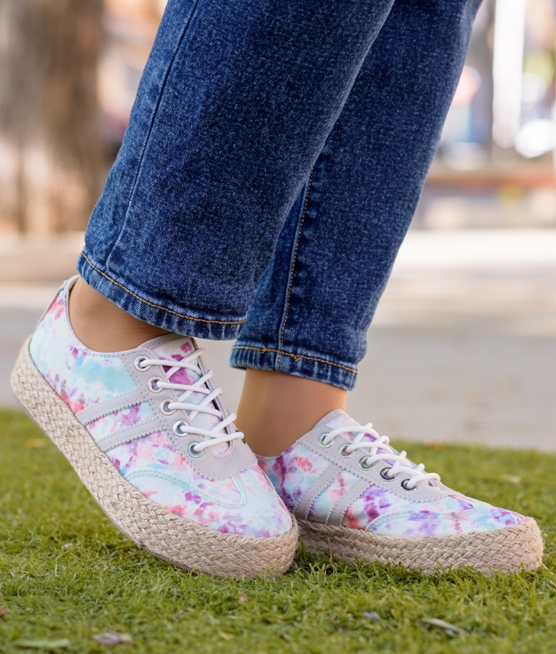 Sneakers Chalon - Acquamarina