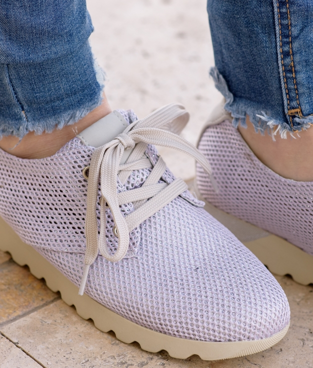 Sneakers Brale - Plata
