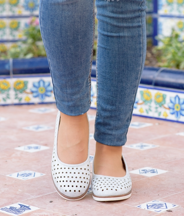 Zapato Xali - Silver