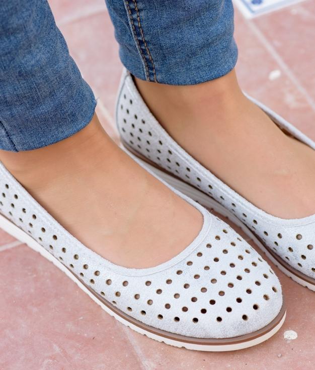 Zapato Xali - Prata