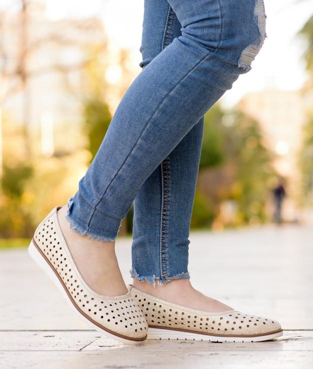 Zapato Xali - Oro