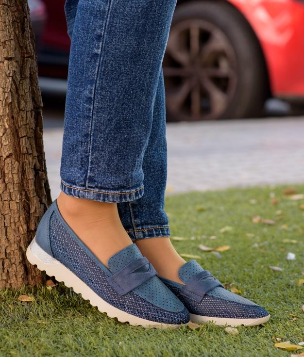 Zapato Palina - Navy