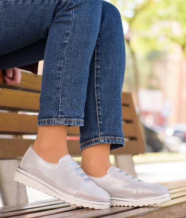 Sneakers Zaplon - Prata