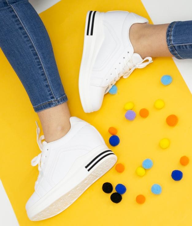 Sneakers Necir - Blanco
