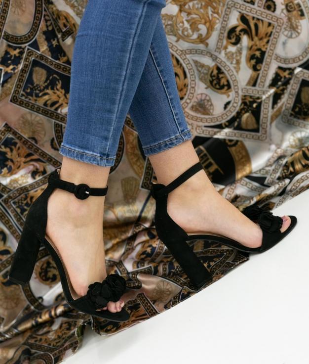 High Sandal Paquera - Black