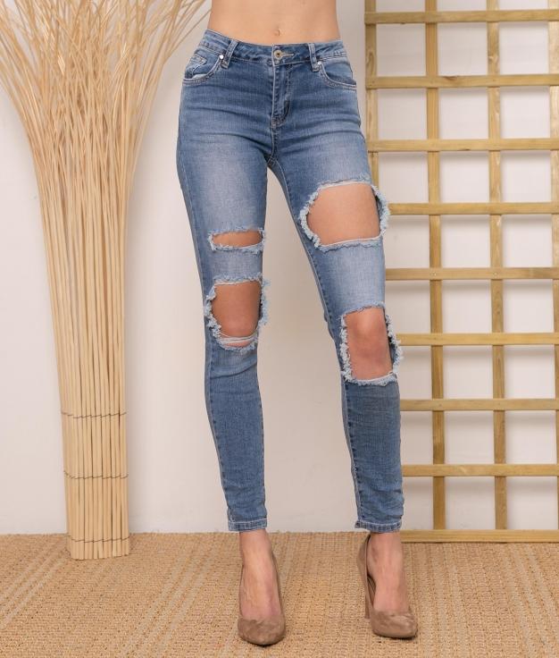 Pantaloni Yibuti - Denim