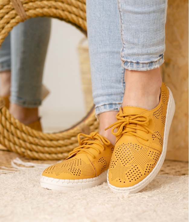 Sneakers Aniki - Amarelo