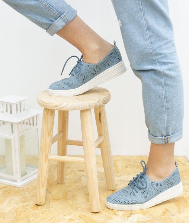 Sneakers Aniki - Blu