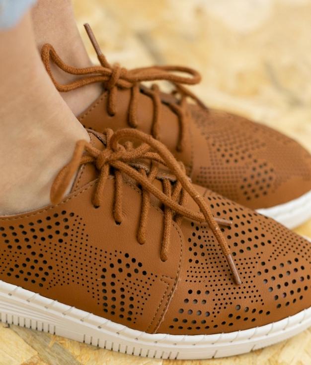 Sneakers Aniki - Camelo
