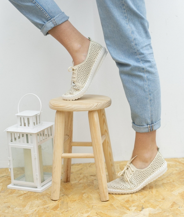 Sneakers Daigo - Bege
