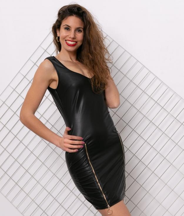 Vestido Lotte - Noir