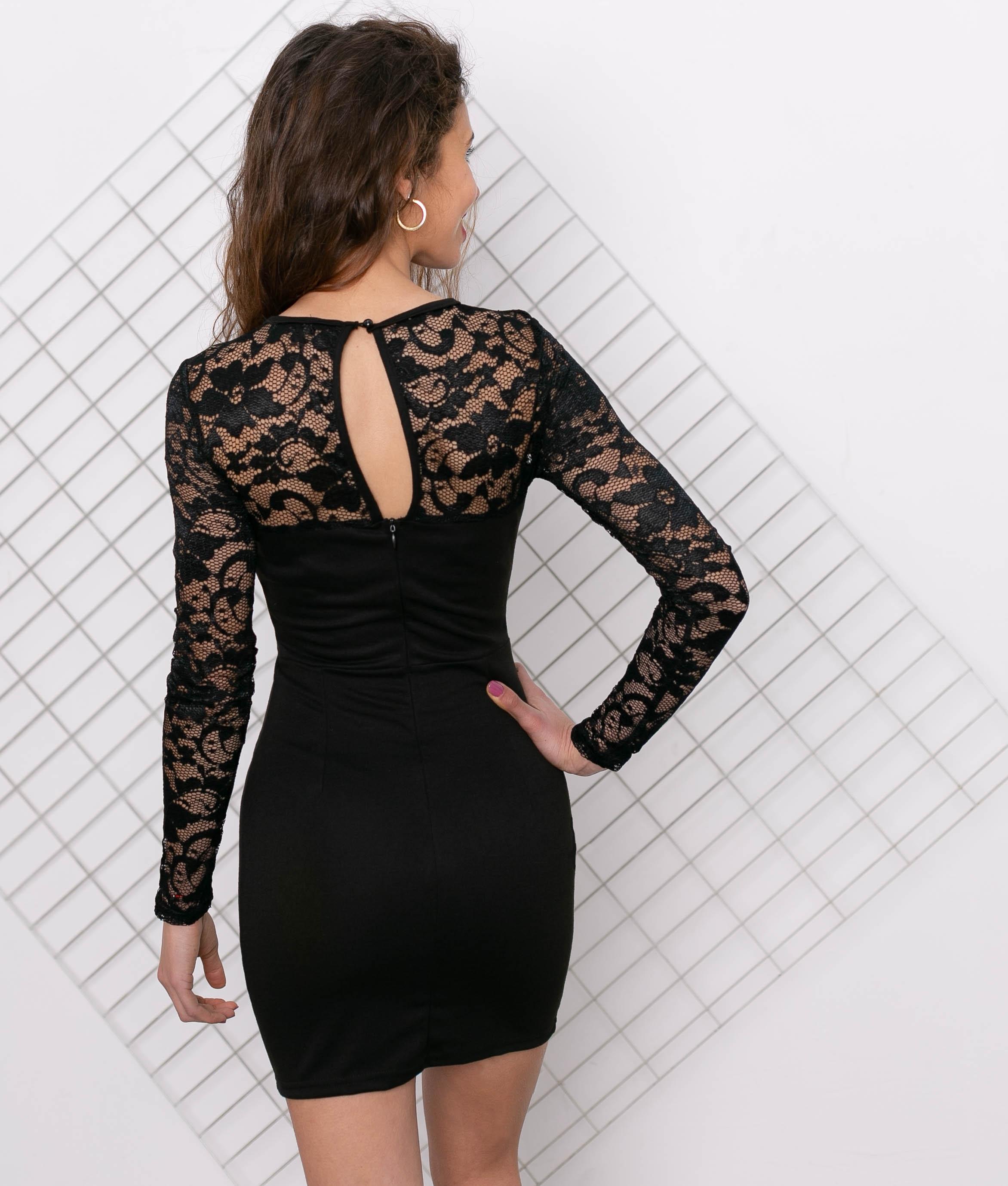 Vestido Lelu - Black