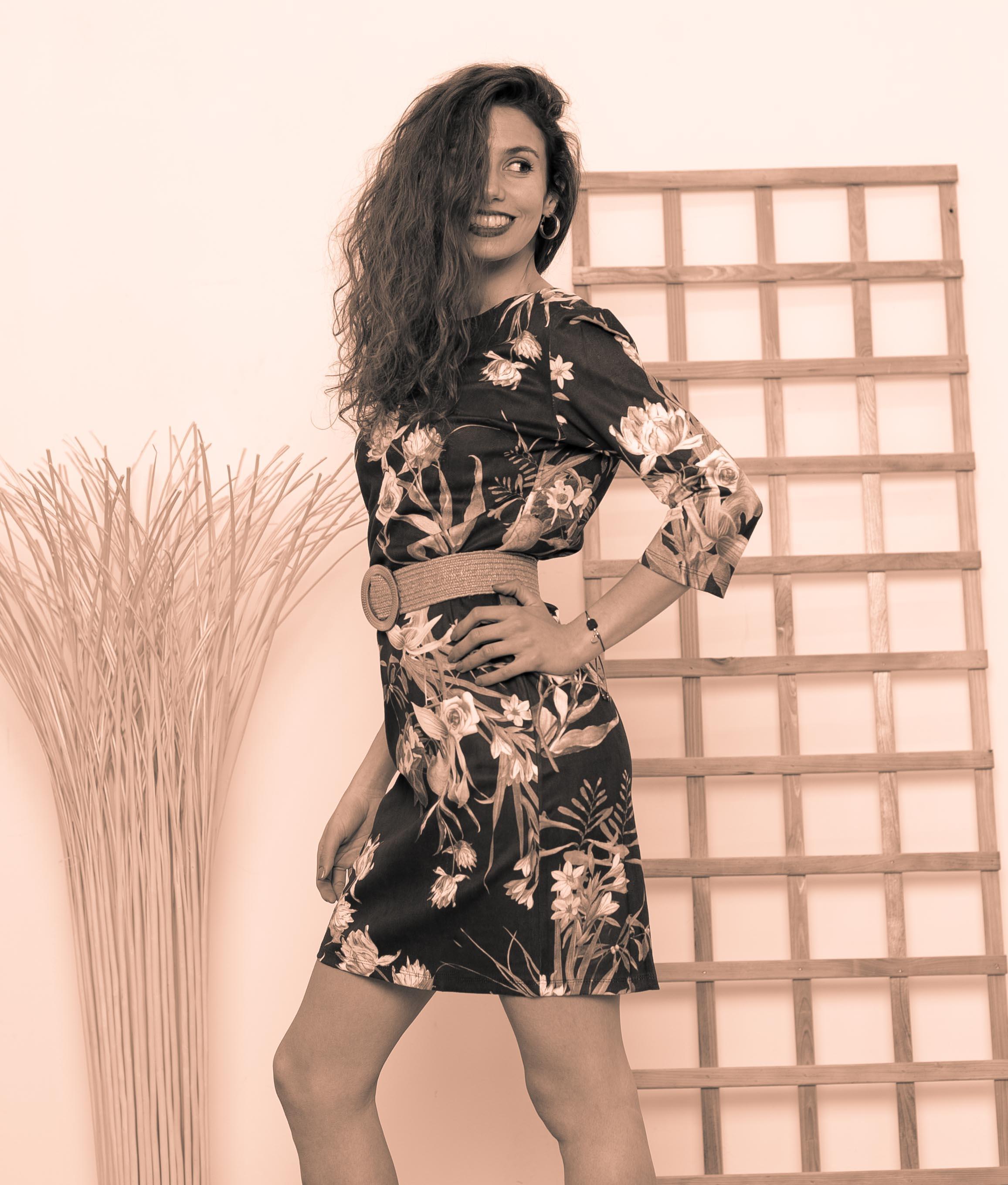Vestido Asha - Nero