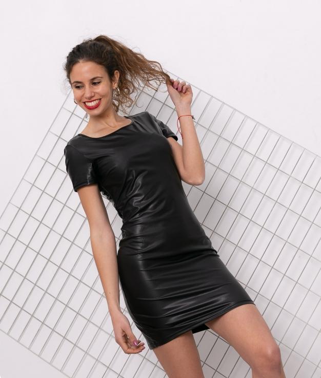 Vestido Clamsi - Negro