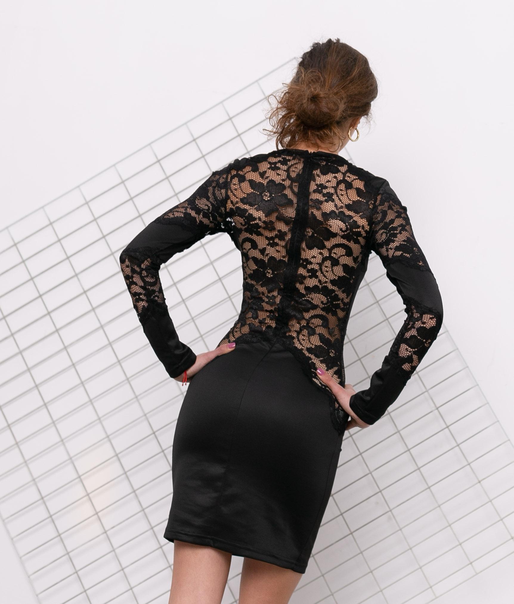 Vestido Vols - Noir