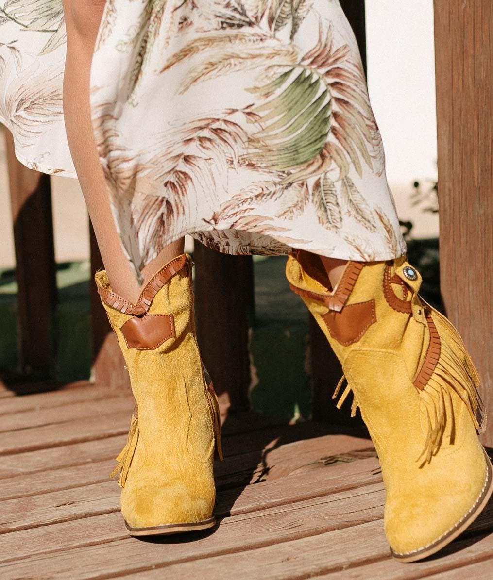 Low Boot Metorse - Yellow