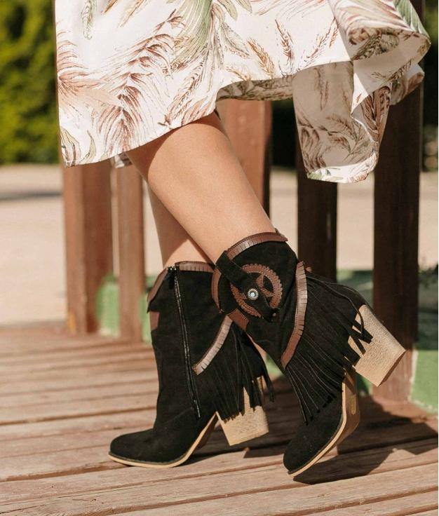 Low Boot Metorse - Black