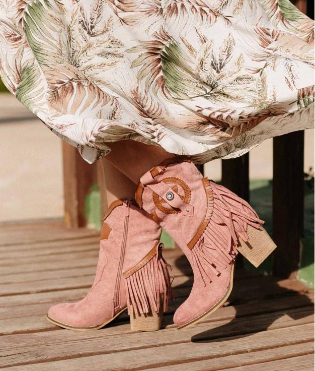 Low Boot Metorse - Pink