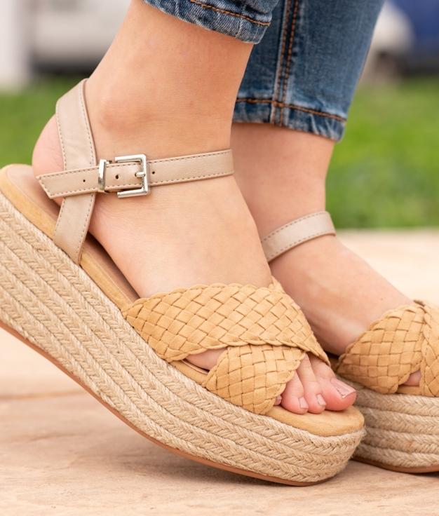 Sandal Losare - Taupe