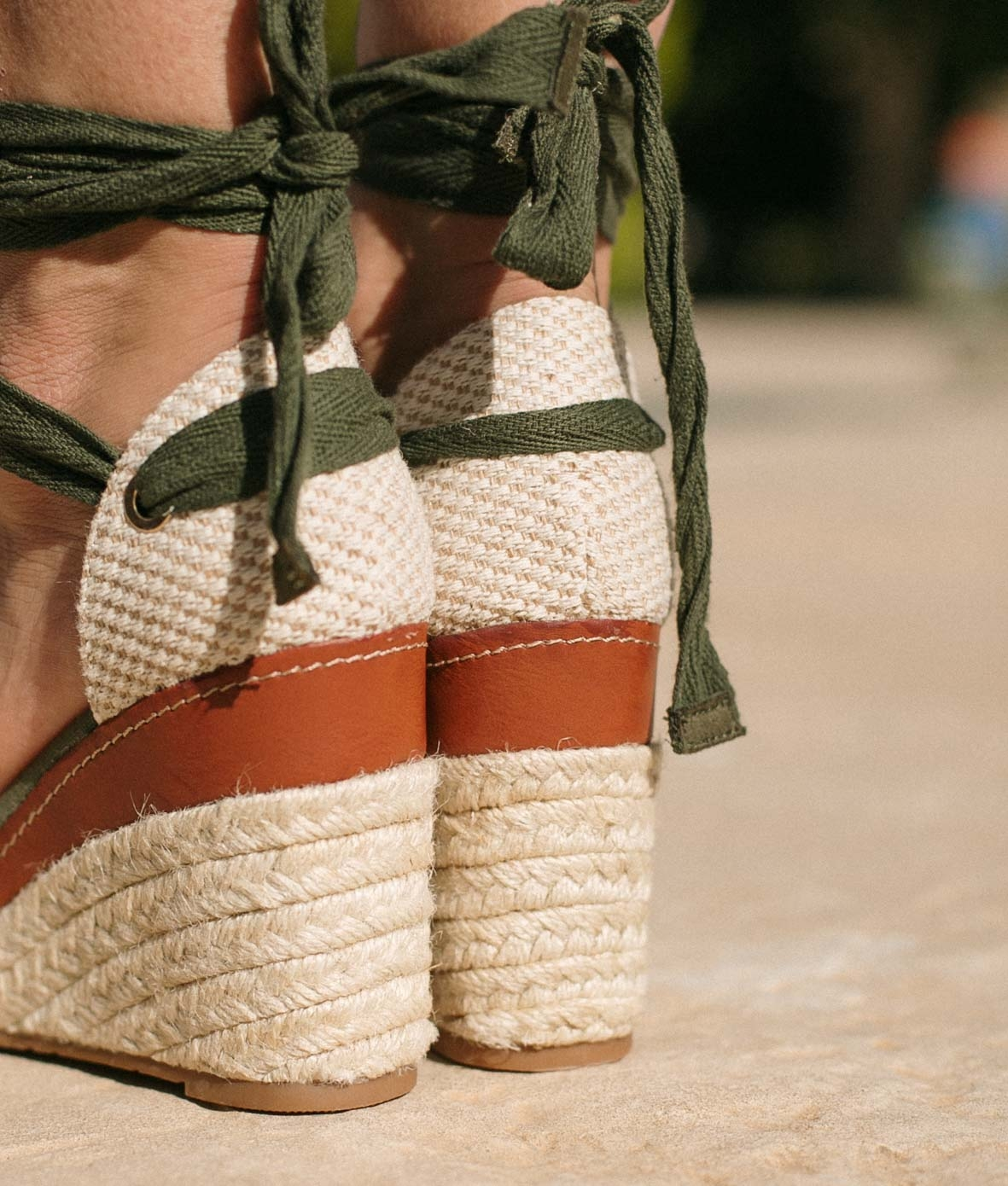 Wedge Heel Tiriyen - Green
