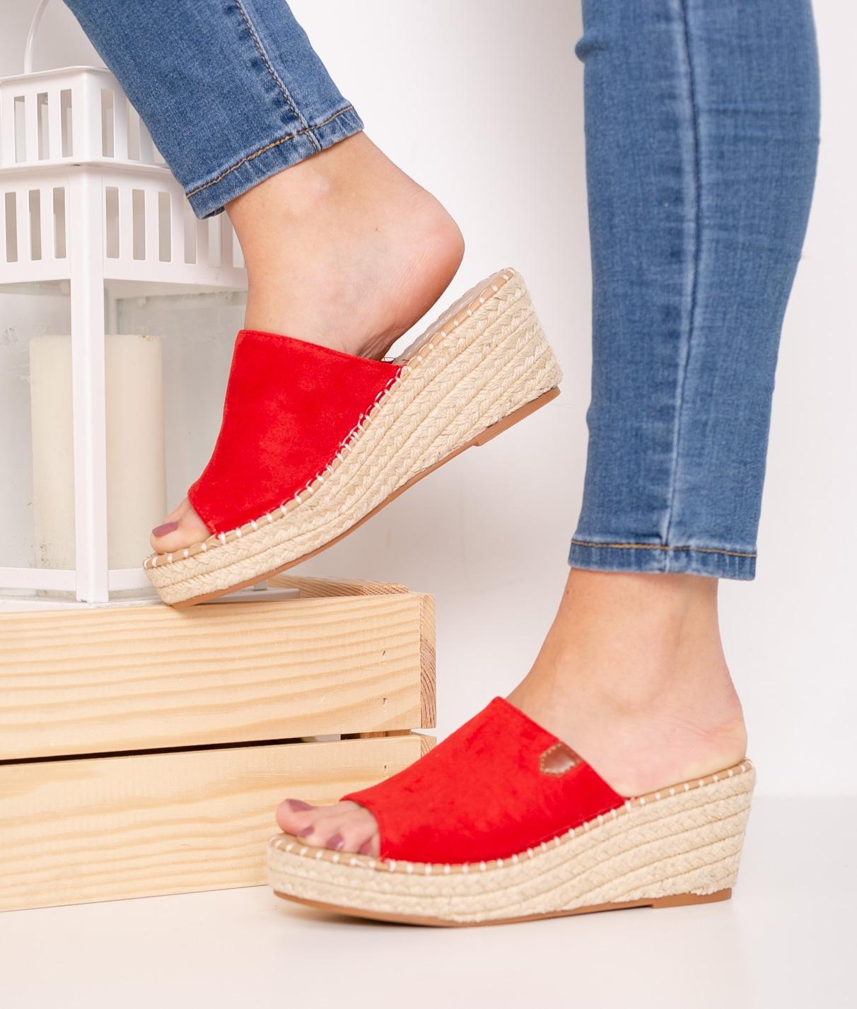 Wedge Heel Sefin - Red