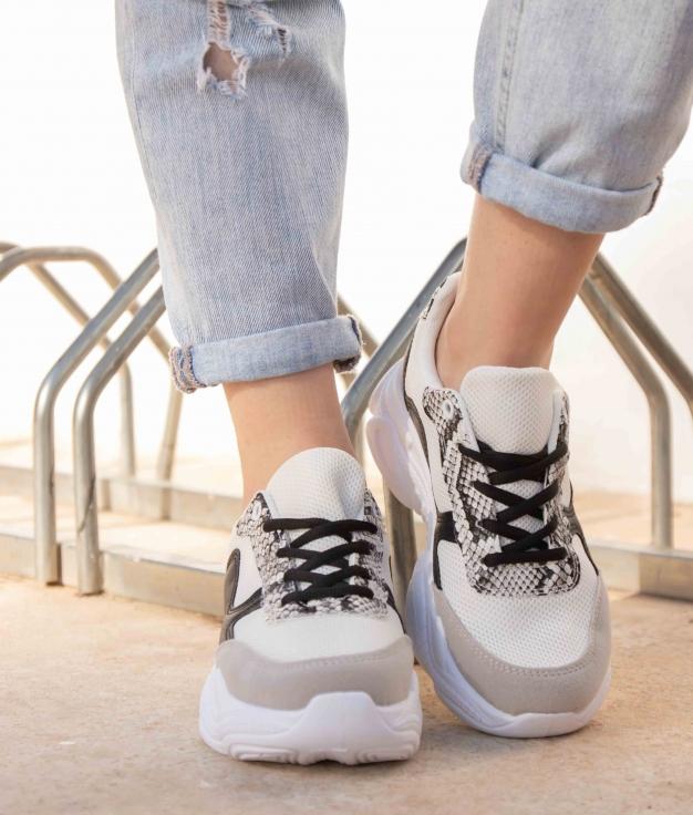 Sneakers Sonul - Cinza