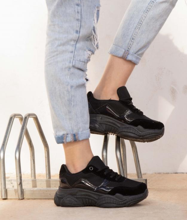 Sneakers Sonul - Preto