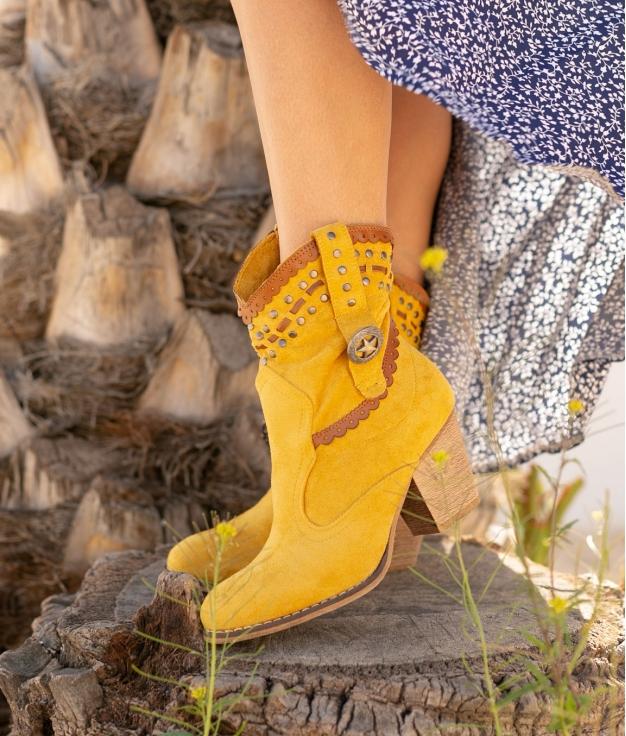 Bota Baja Yiren - Amarillo