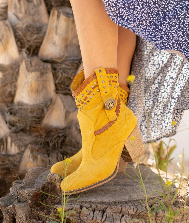 Low Boot Yiren - Yellow