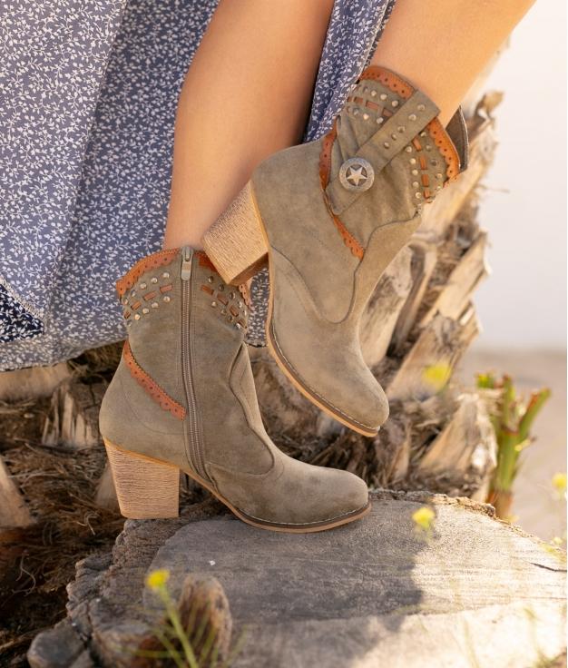 Low Boot Yiren - Green
