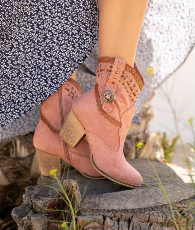 Low Boot Yiren - Pink